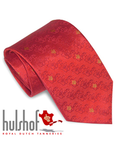 Necktie with logo