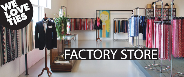 The We Love Ties Factory Store