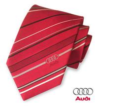 necktie with AUDI logo