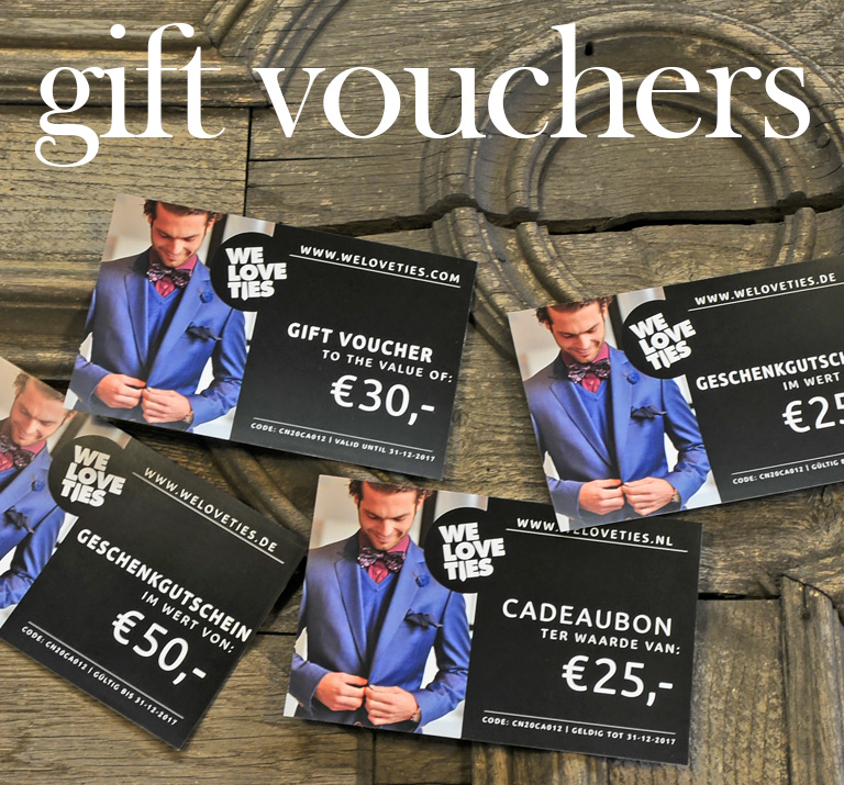Gift vouchers striped