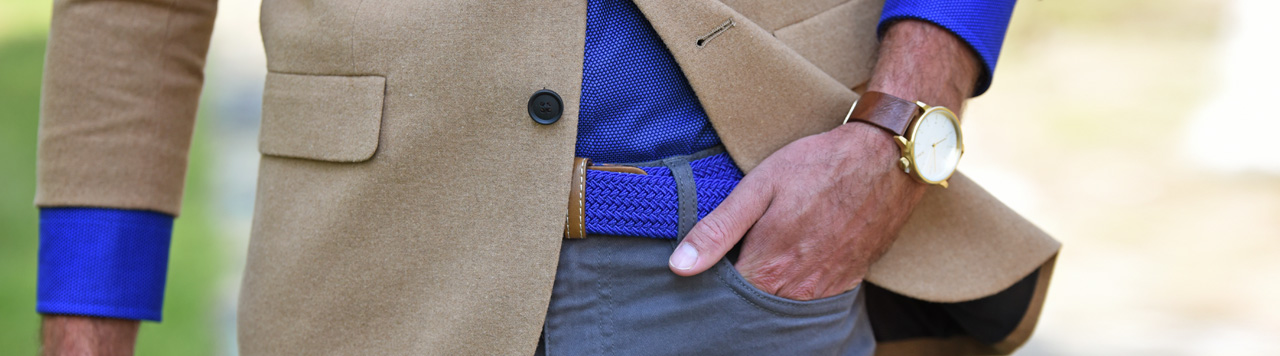 Belts checkered