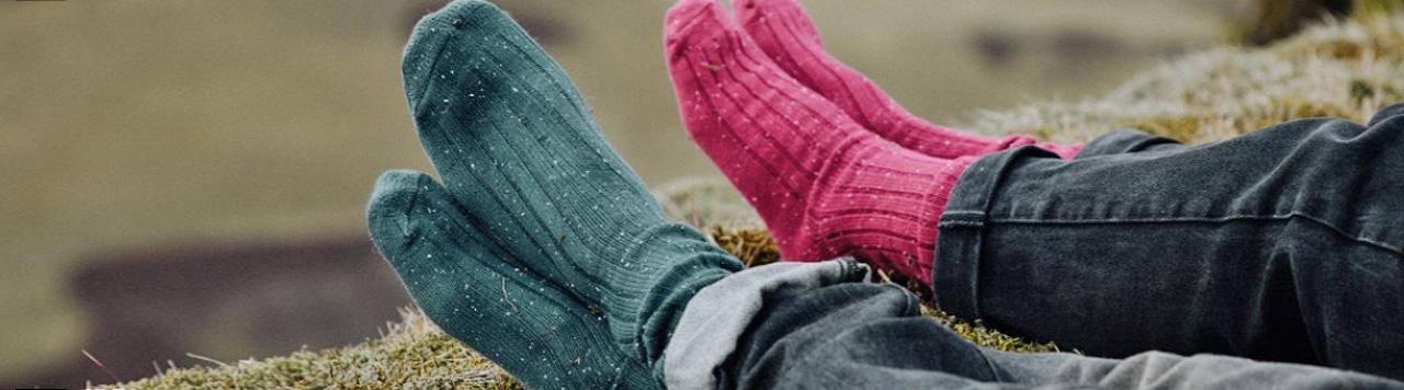 Socks purple