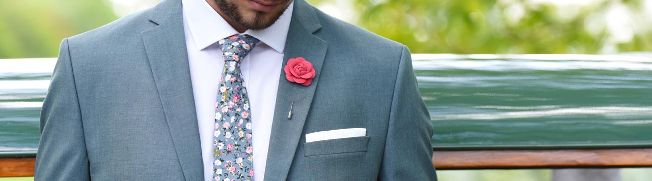 XL Neckties fuchsia