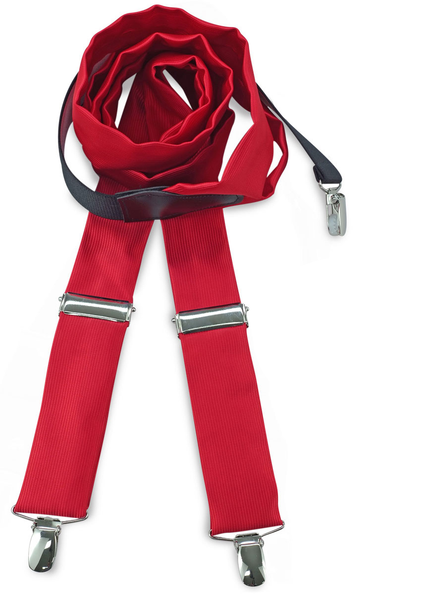 Take advantage of our sale and see for yourself why so many people love our suspenders. In addition to holiday and seasonal suspenders, SuspenderStore's suspender sale include drastically reduced prices on solid- colored suspenders for work and everyday use.