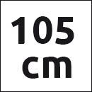 Tresanti belt beige suede - 105cm