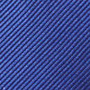 Clip-on tie royal blue repp