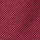 Clip-on tie bordeaux red repp