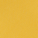 Necktie bright yellow narrow