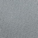 Necktie silver grey narrow