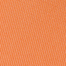Necktie orange narrow