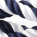 Cord bracelet striped