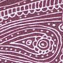 Sir Redman deluxe suspenders Paisley Sketch