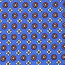 Handkerchief Tiny Flower blue