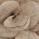 Lapel pin Linen Look brown