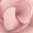 Lapel pin Linen Look pink