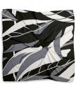 Scarf pattern grey white