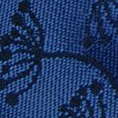 Sir Redman bow tie Botanical Flow royal blue