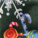 Diamond tip bow tie Happy Holidays