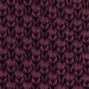 Sir Redman knitted bow tie aubergine