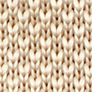 Necktie knitted champagne