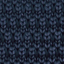 Necktie knitted navy blue