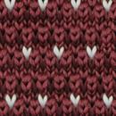 Necktie knitted Flying V