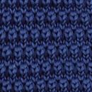 Sir Redman knitted bow tie dark blue