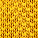 Necktie knitted ochre