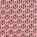 Bow tie knitted soft pink