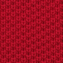 Necktie knitted red