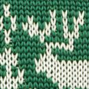 Bow tie Rudolph Reindeer green