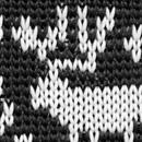 Bow tie Rudolph Reindeer black