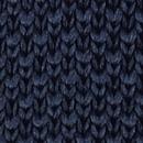 Sir Redman knitted tie dark blue