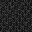 Sir Redman knitted tie black