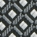 Necktie pattern grey white