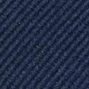 Pocket square repp navy blue