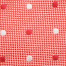 Necktie Preston Points coral red