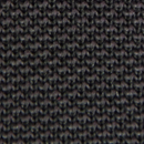 Necktie knitted black