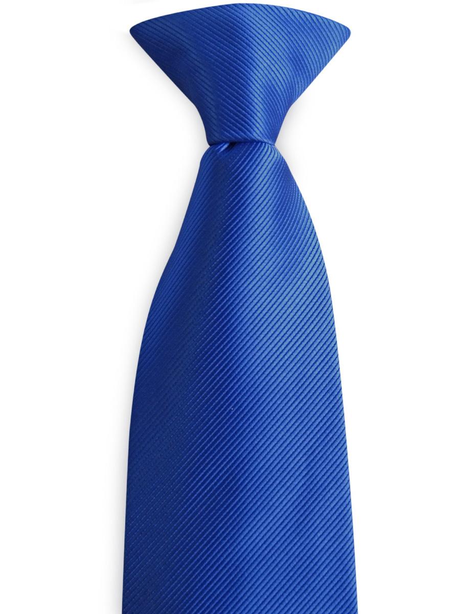 fda21f35f3bf Clip-on tie royal blue repp | Clip-on ties | WeLoveTies.com
