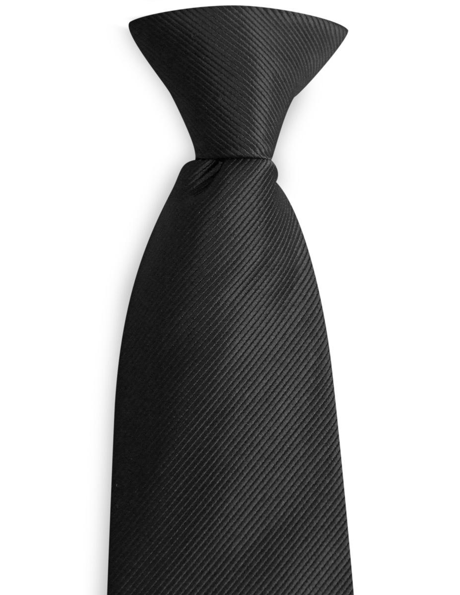 a44909ae1573 Clip-on tie black repp | Clip-on ties | WeLoveTies.com