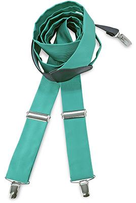 Suspenders tie fabric mint green