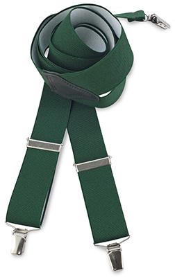 Suspenders green