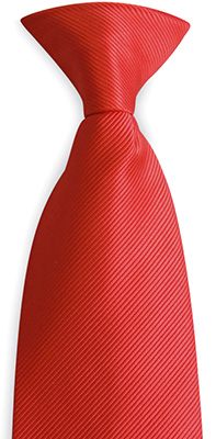 Safety tie red