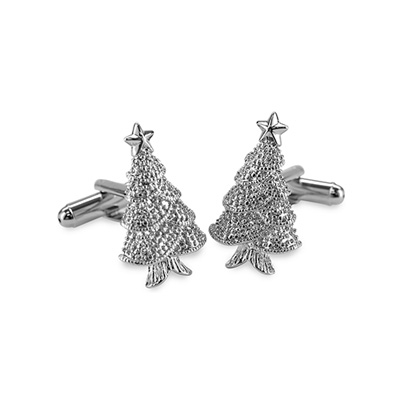 Cuff links Christmas-tree