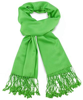 Pashmina Apple green