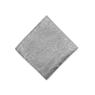Handkerchief Baroque grey