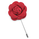 Lapel pin flower