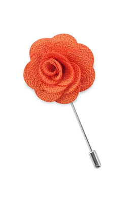 Lapel pin rose