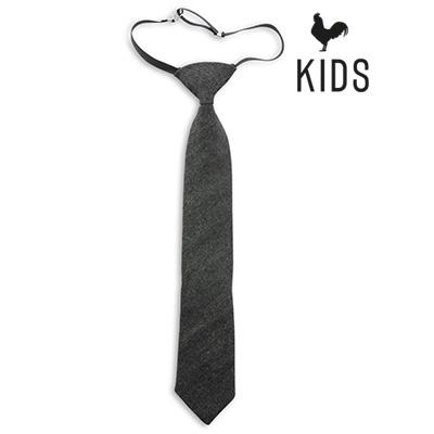Sir Redman denim kids tie black