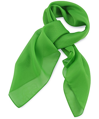 Scarf apple green